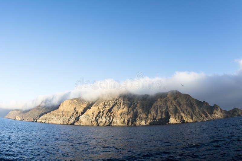 Anacapa Insel lizenzfreie stockbilder