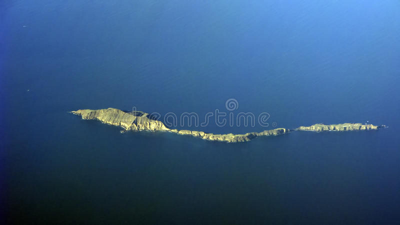 Anacapas von Kanal-Inseln, CA stockfotografie