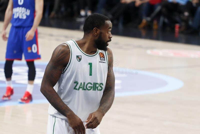 Anadolu Efes - Zalgiris Kaunas / 2019-20 EuroLeague Round 24 Game stock photos
