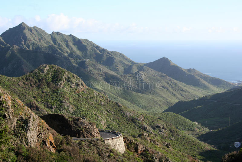 Anaga Berg in Tenerife lizenzfreies stockfoto