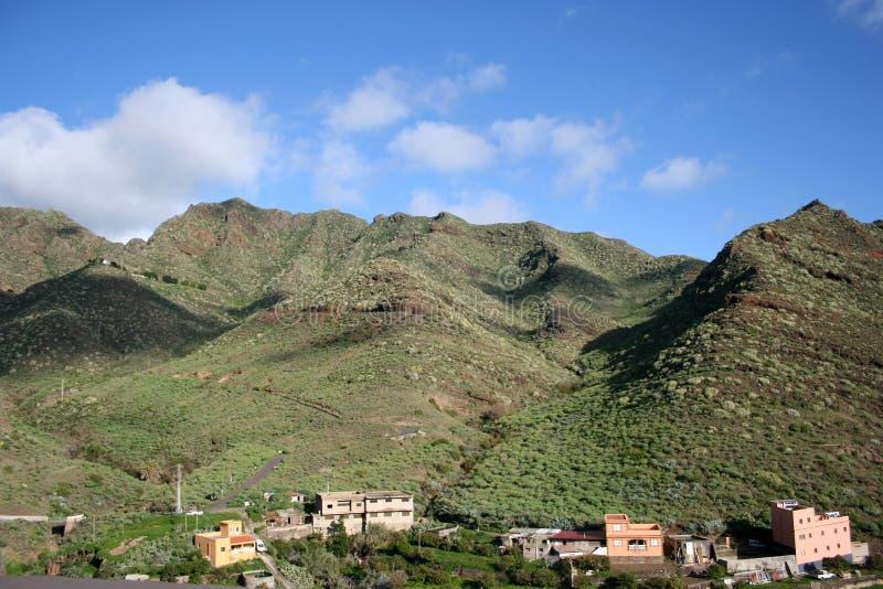 Anaga Berg in Tenerife stockbilder
