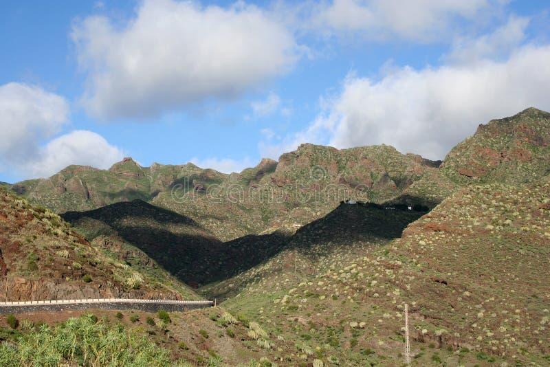Anaga Berg in Tenerife lizenzfreie stockfotos