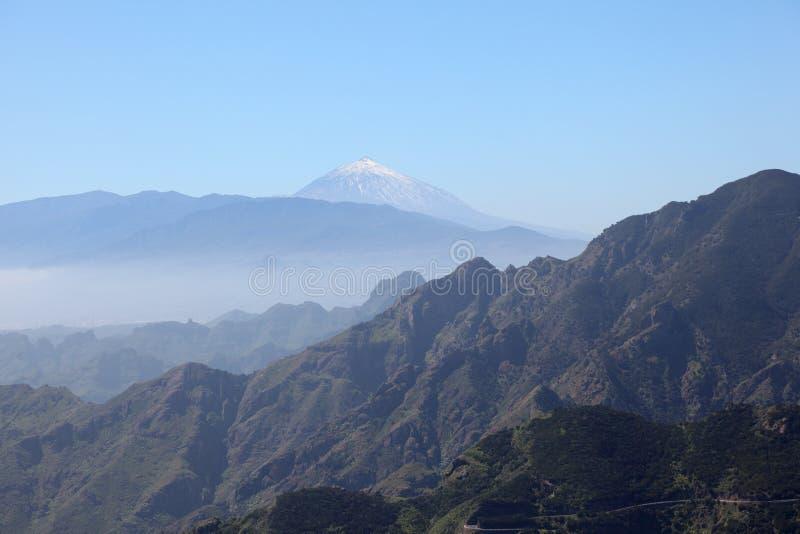 Anaga Berge, Tenerife lizenzfreie stockfotos