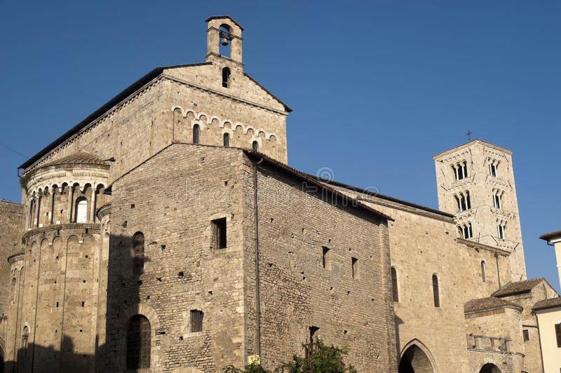 Download Anagni (Italy) - Medieval Cathedral Stock Photo - Image: 21568378