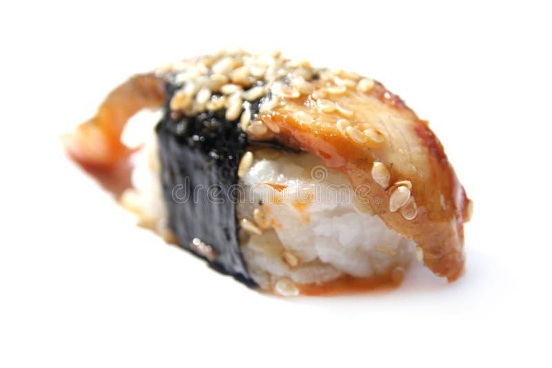 Anago sushi royaltyfria bilder