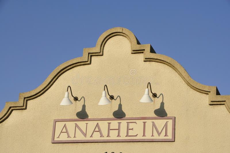Anaheim stock afbeelding