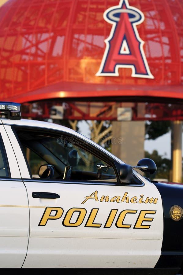 Anaheim Policja Fotografia Editorial