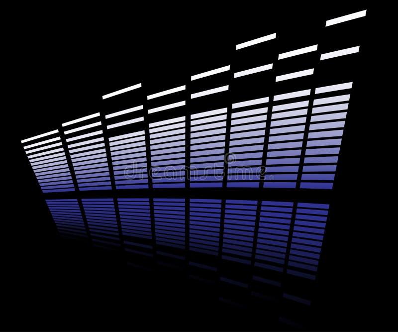 Analisador do diodo emissor de luz ilustração do vetor