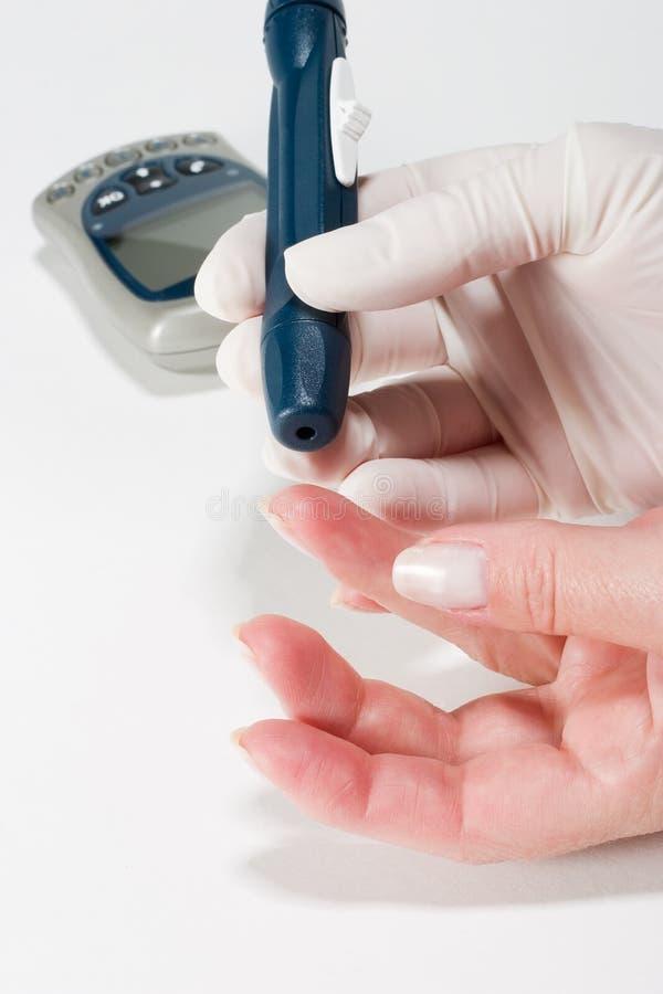 Analisi del sangue fotografia stock
