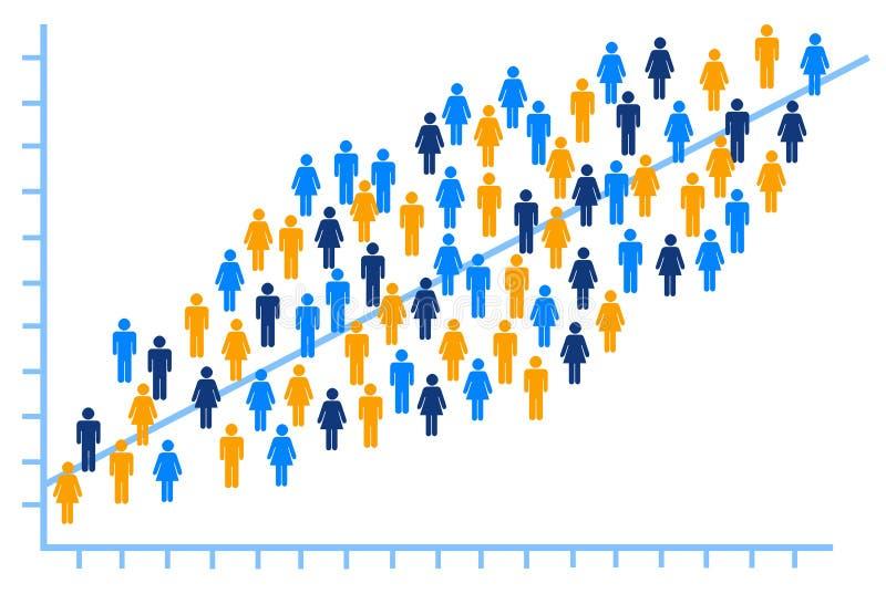 Analisi della gente royalty illustrazione gratis