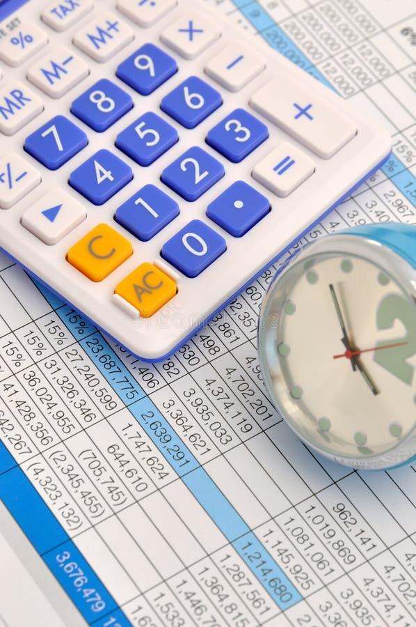 Analisi di dati e programma del piano aziendale immagine stock