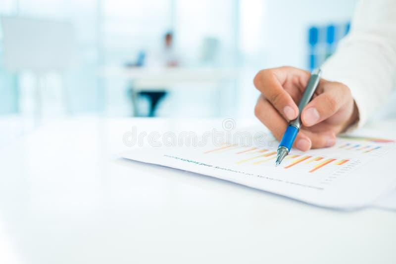Analisi di strategia immagini stock