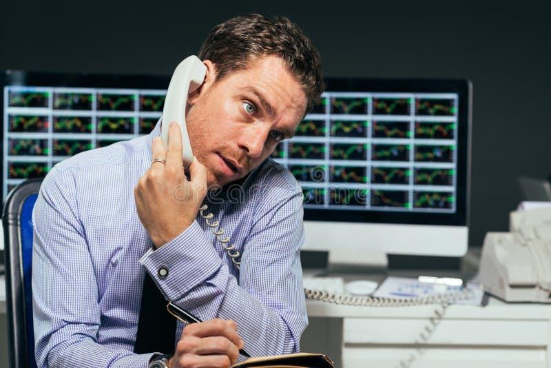 Analista financeiro foto de stock
