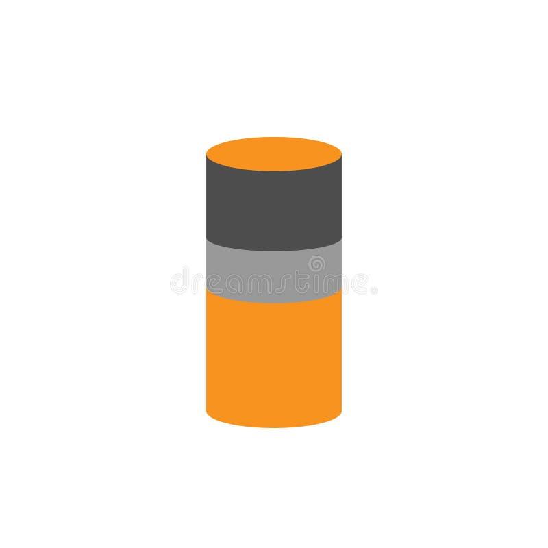 Analityka i butli ikona Element pieniężny, diagramy i raport ikona dla, mobilnego pojęcia i sieci apps Szczegółowe analityka ilustracji