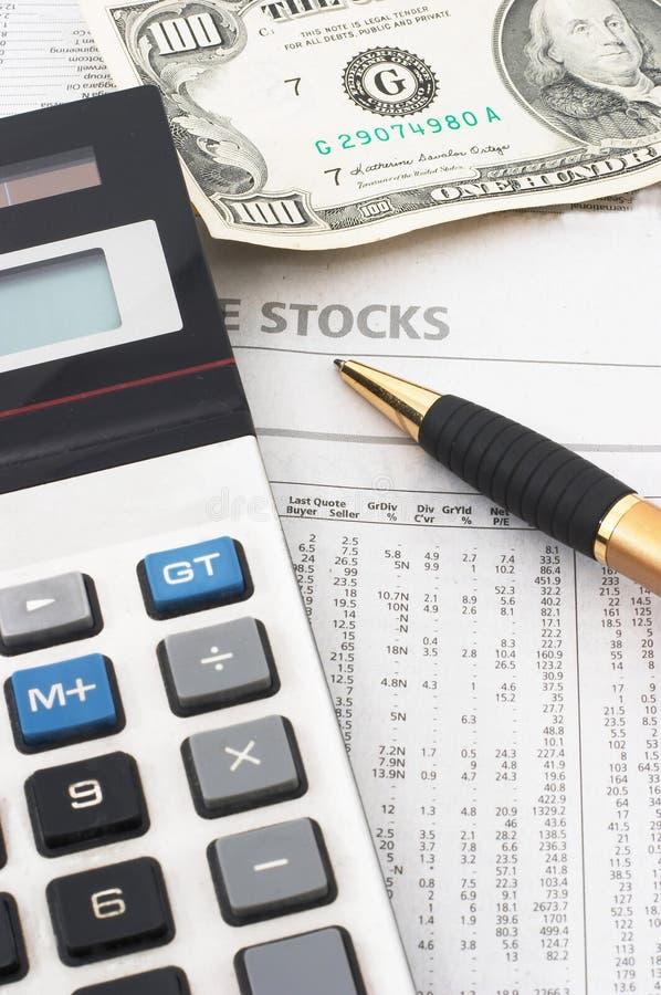 analiza danych akcje rynku finansowego, obraz royalty free