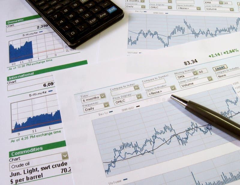 analiza rynku zasobów fotografia royalty free