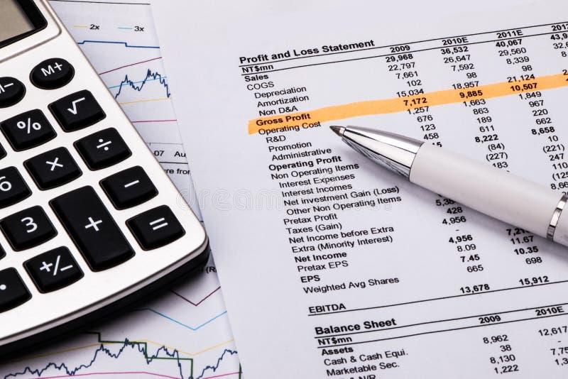 analizy wykresów rynku zapas fotografia royalty free
