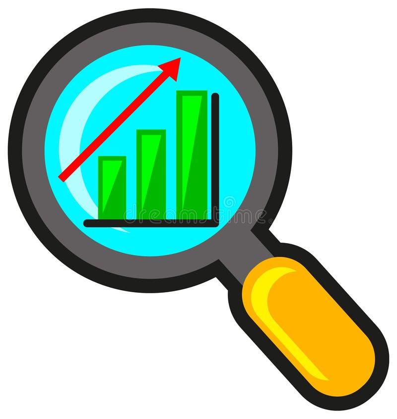 Analizzare di successo illustrazione vettoriale