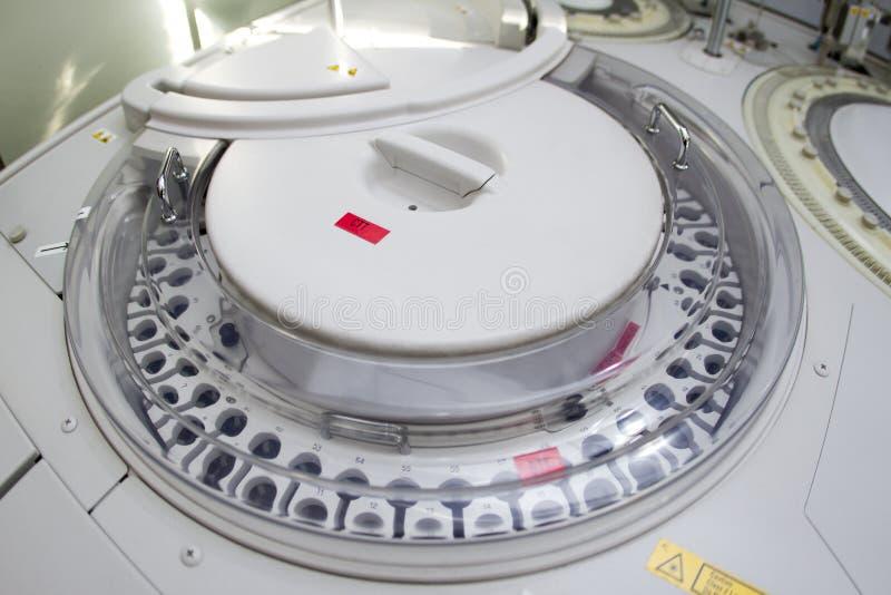 Analizzatore di gas del sangue immagine stock