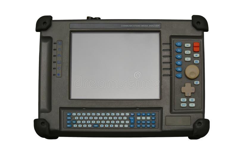 Analizzatore di media di comunicazioni, dispositivo più nettest per la diagnostica del Th fotografia stock