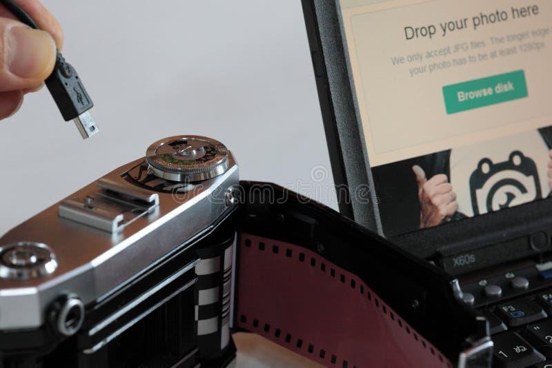 Analog camera royalty free stock images