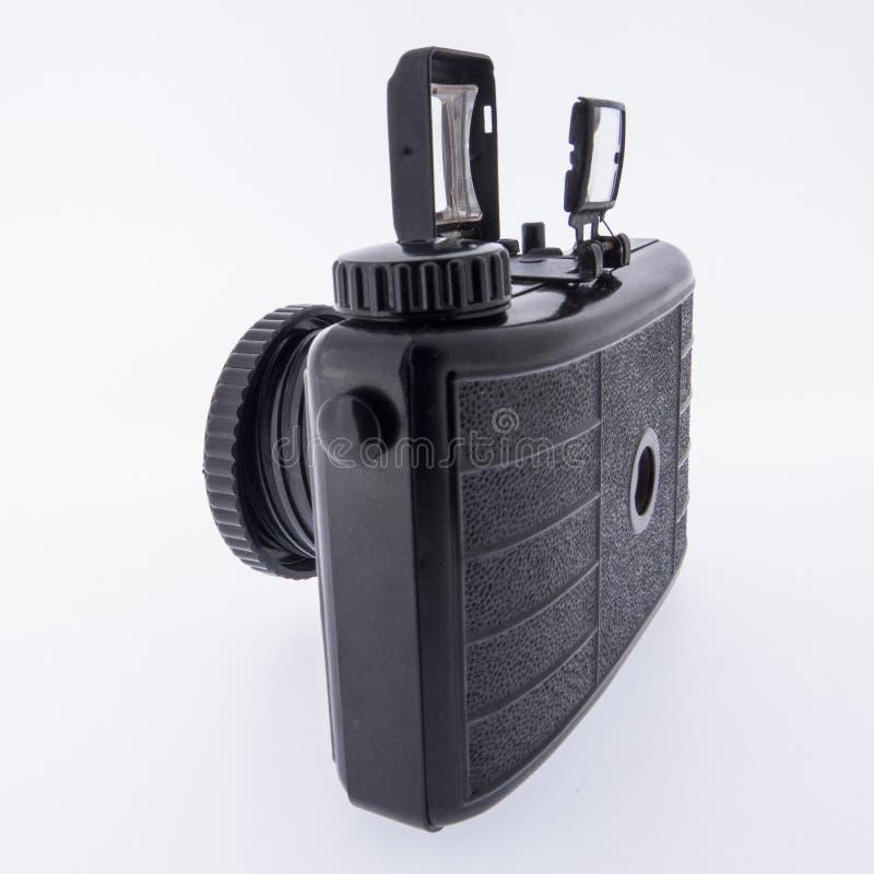 Analog camera. With white background royalty free stock images