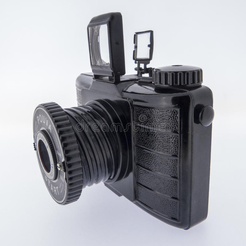 Analog camera stock image