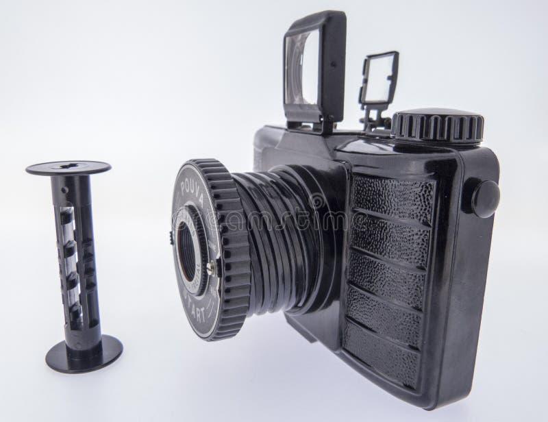 Analog camera stock photography