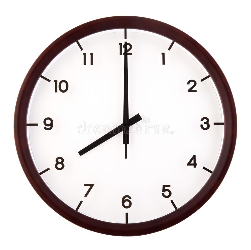 Analog clock royalty free stock images
