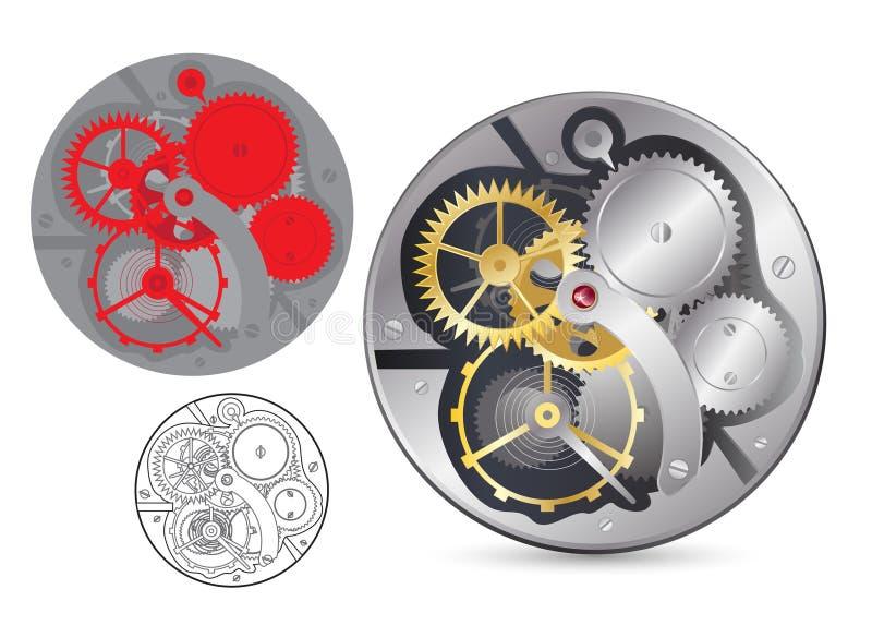 Analog clock mechanism