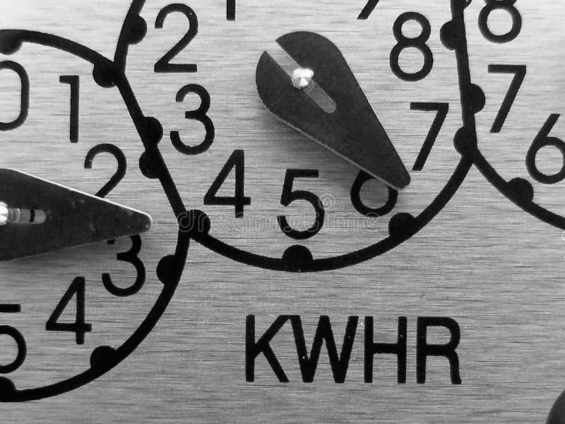 Download Analog Electric meter stock photo. Image of measure, kilowatt - 5057768