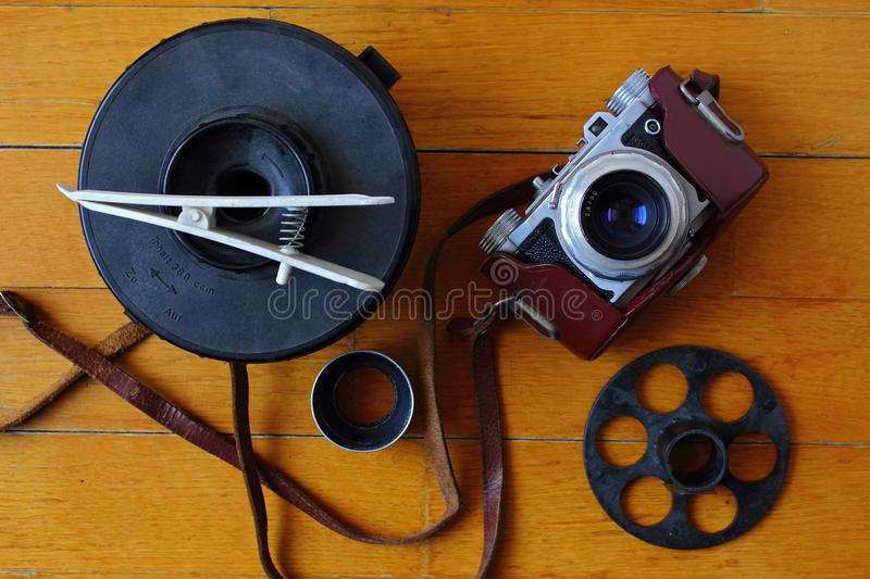 Analog photography royalty free stock photo