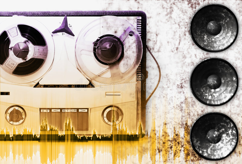 Download Analog recorder stock image. Image of deck, dirt, dirty - 1872089