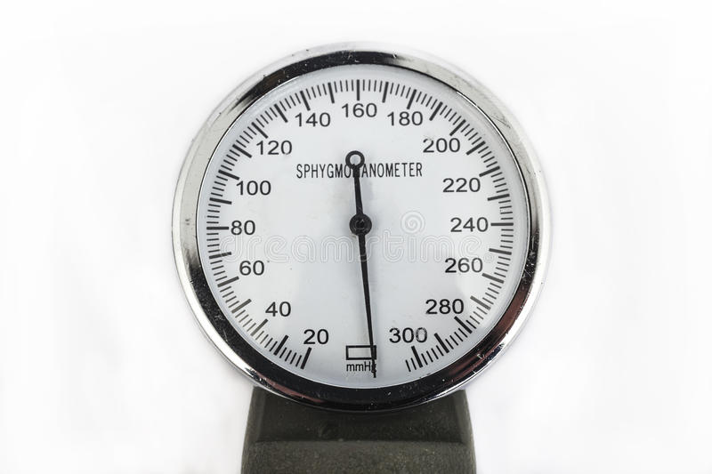 Analog sphygmomanometer royalty free stock photography