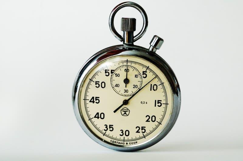 Analog stopwatch royalty free stock image