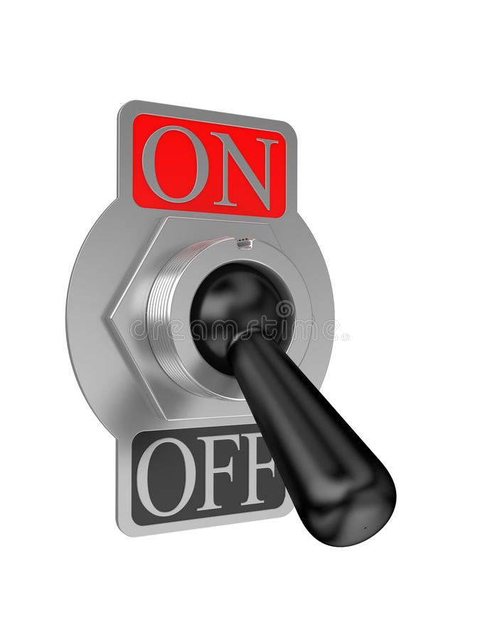 Download Analog switch on stock illustration. Image of control - 11698839