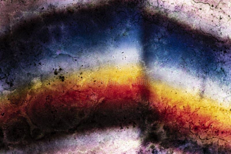 Analoge achtergrond, korrelig en kleurrijk stock foto