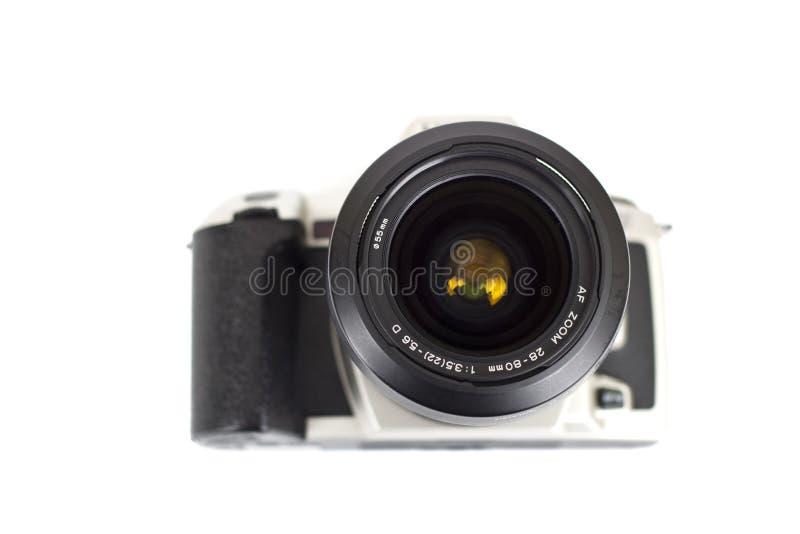 Analoge geïsoleerde camera royalty-vrije stock foto
