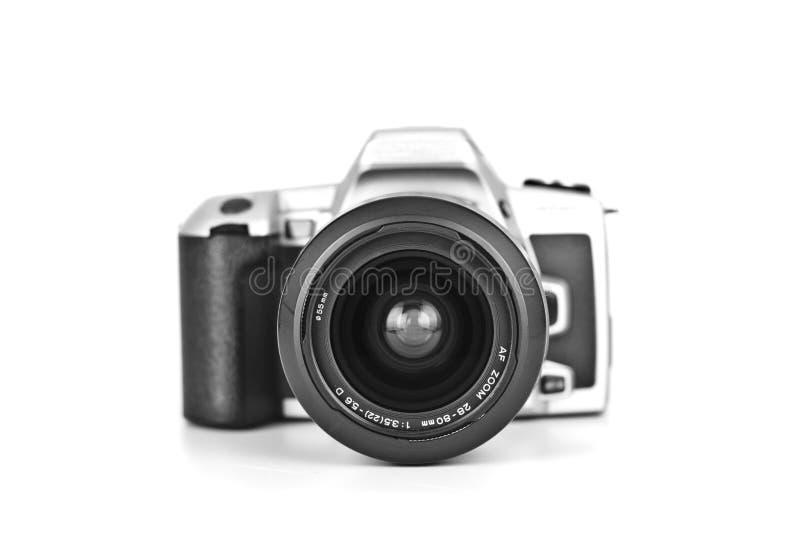 Analoge geïsoleerde camera stock afbeeldingen