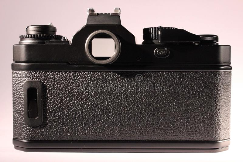 Analoges Kameragehäuse, Rückseite lizenzfreies stockbild