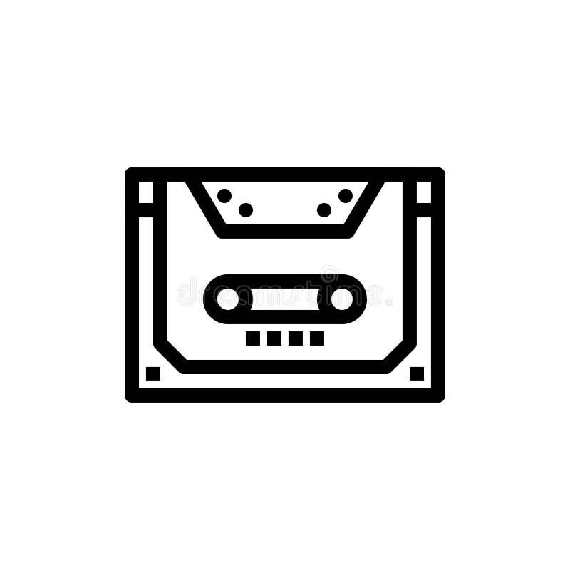 Analogowy, Audio, kaseta, układ, pokład sieci Widget karty szablon, Błękitnej i Czerwonej ściągania i zakupu Teraz ilustracji