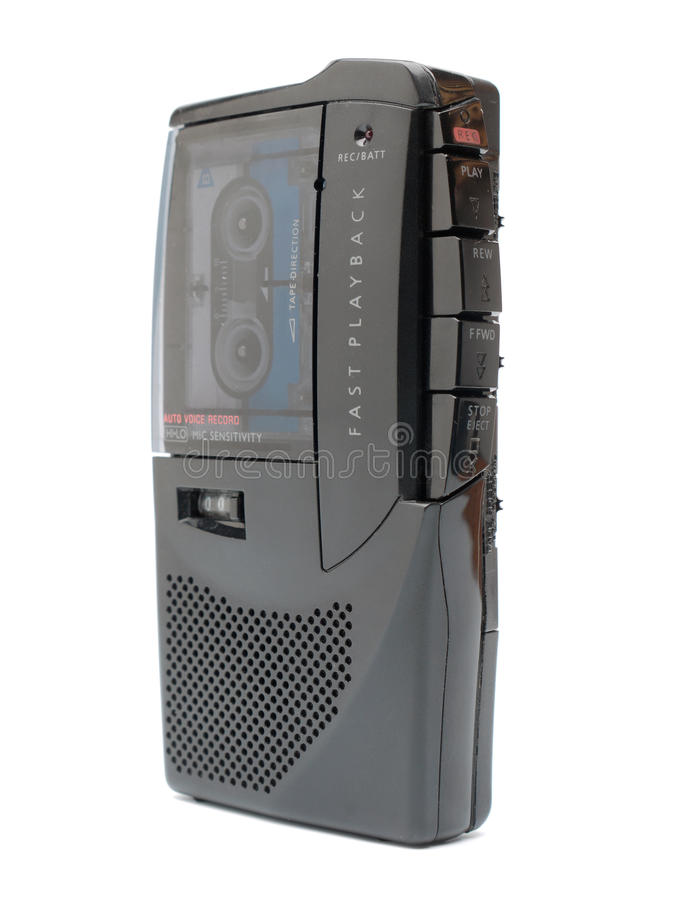 analogowy dyktafon obrazy royalty free