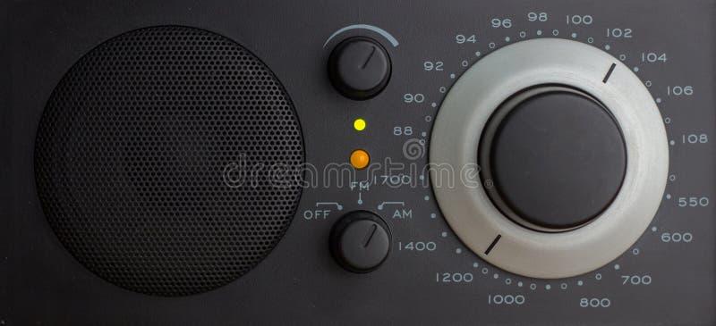 Analogowy radio wewnątrz AM zdjęcie stock