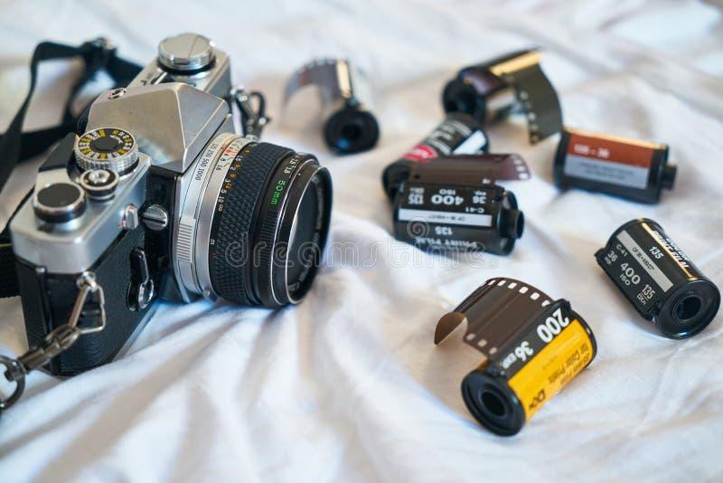 Analogue, Aperture, Blur stock photography