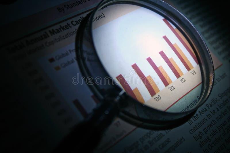 analysaffär arkivfoton