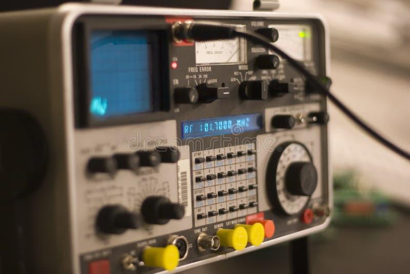 analysatorkommunikation arkivfoto