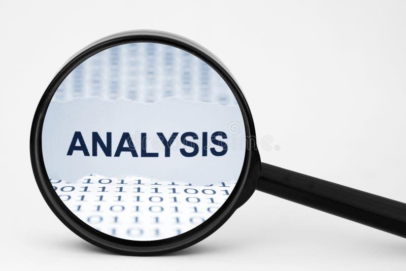 Analyse stockfoto