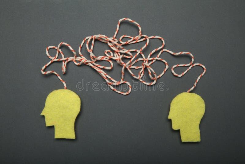 Analyse commerciale et échange d'idées Travail d'?quipe d'entreprise image libre de droits
