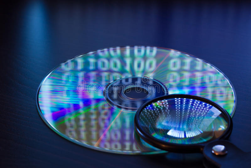 Analyse de données image stock