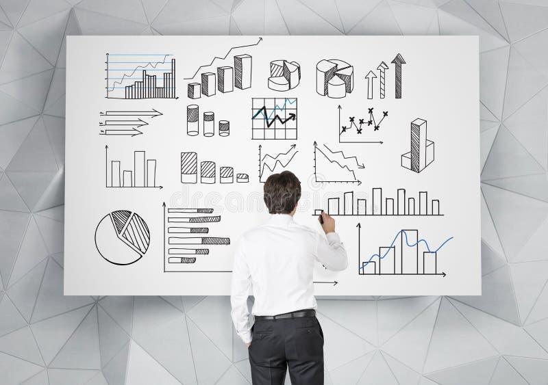 Analyse der kommerziellen Daten stockbilder